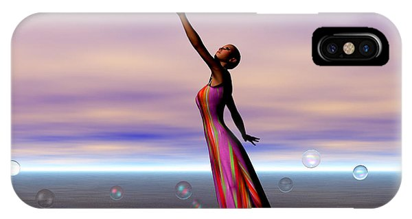 Reaching For A Cure Phone Case by Sandra Bauser Digital Art