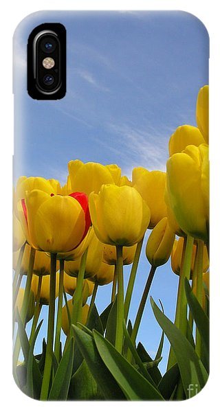 Reaching For The Heavens IPhone Case