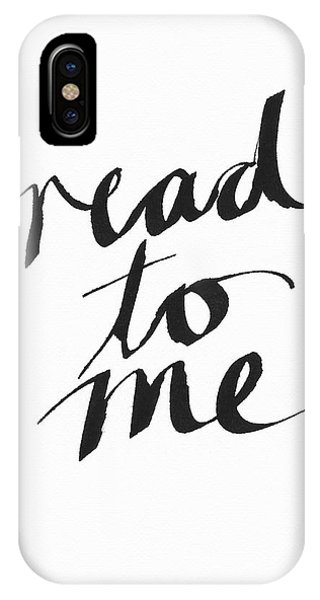 Reading iPhone Case - Read To Me- Art By Linda Woods by Linda Woods