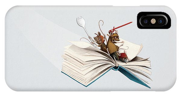 Reading Is An Adventure IPhone Case