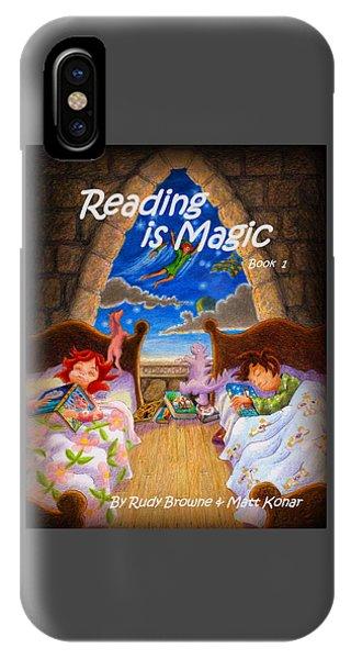Reading Is Magic IPhone Case