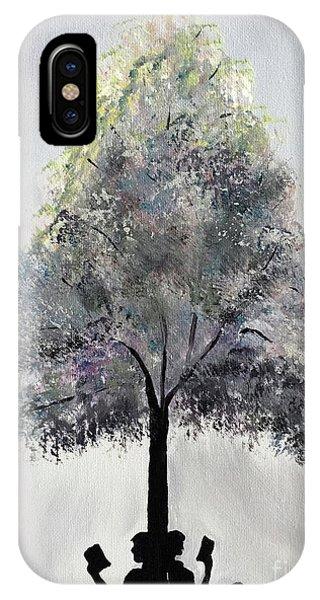 Reading Tree IPhone Case