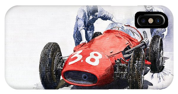 Ready For Racing Maserati 250 F IPhone Case