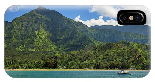 Ready To Sail In Hanalei Bay IPhone Case