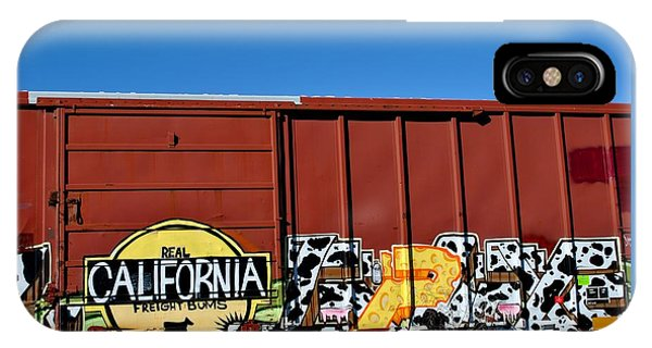 Real California Freight Bums  IPhone Case