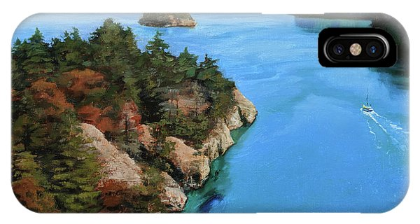 Whidbey iPhone Case - Real Deception by Jennifer Ann McGill