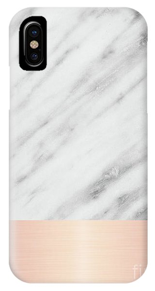 Real Italian Marble And Pink IPhone Case