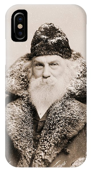 Christmas iPhone Case - Real Life Santa Claus by American School