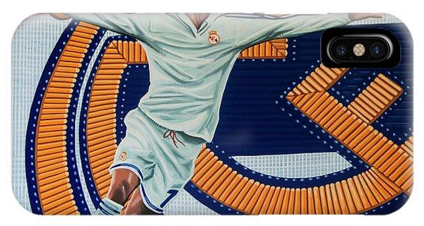 Spain iPhone Case - Real Madrid Painting by Paul Meijering
