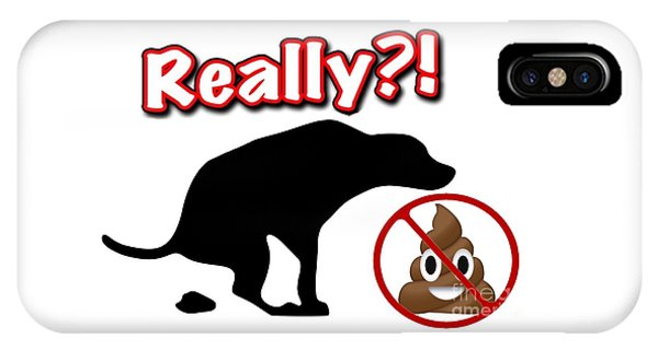 Really No Poop IPhone Case