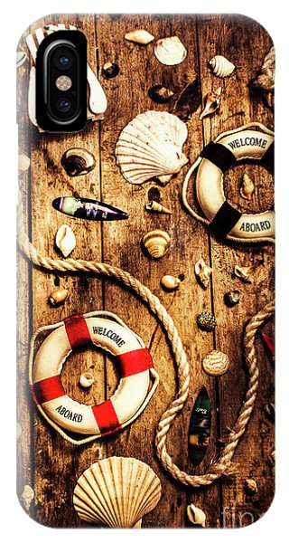 Nautical iPhone Case - Rearranging The Deck Chairs by Jorgo Photography - Wall Art Gallery