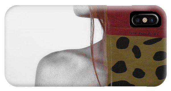 Lips iPhone Case - Rebel Rebel by Paul Lovering