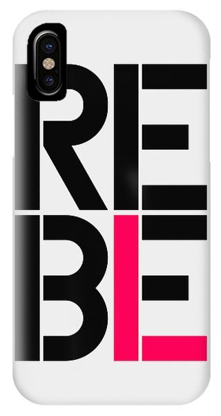 Protest iPhone Case - Rebel by Three Dots