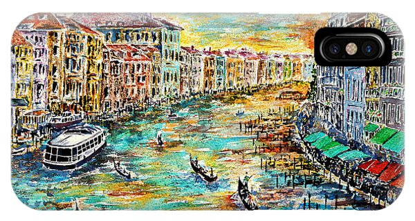 Recalling Venice IPhone Case