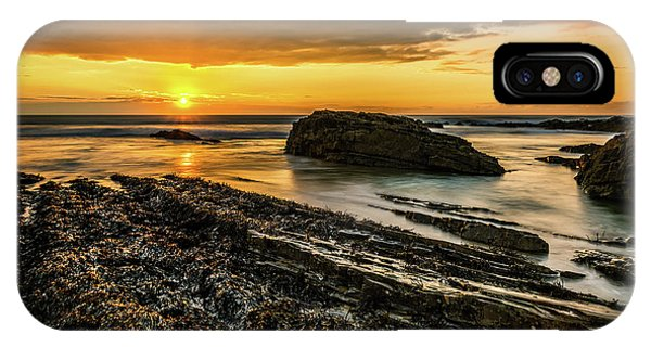 IPhone Case featuring the photograph Receding Tide by Nick Bywater