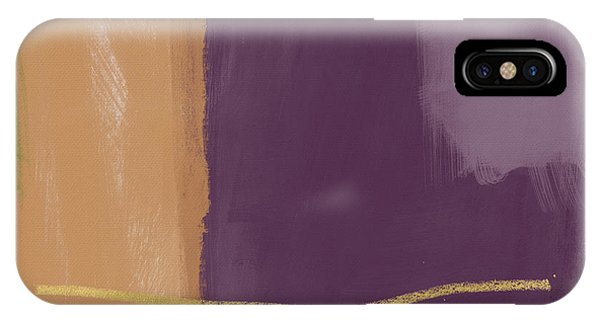 Purple iPhone Case - Reception- Art By Linda Woods by Linda Woods