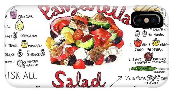 Recipe- Panzanella Salad IPhone Case