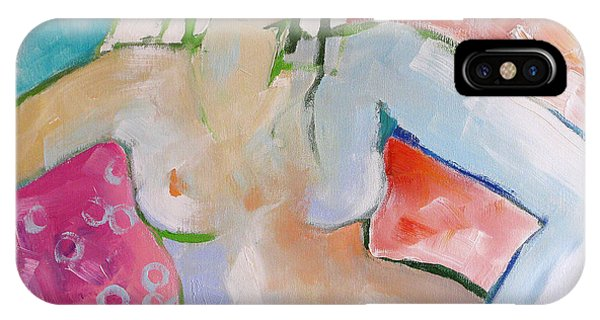 Reclining Nude IPhone Case