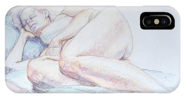 Reclining Study 2 IPhone Case