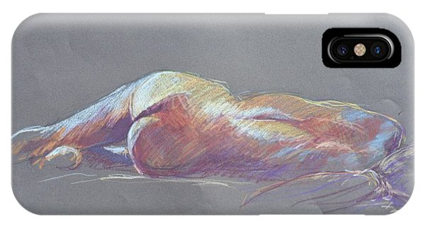 Reclining Study 5 IPhone Case