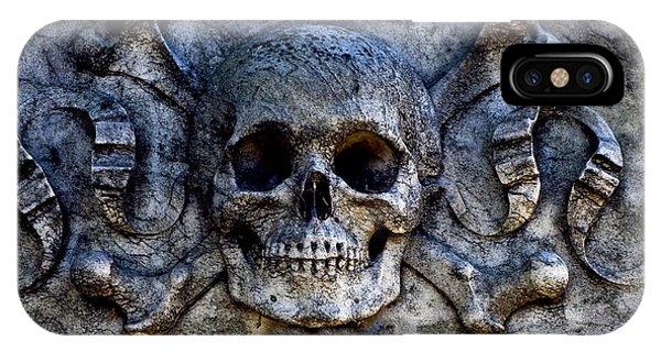 Recoleta Skull IPhone Case