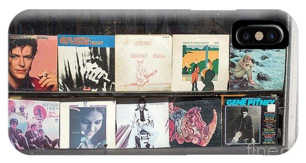 Eric Clapton iPhone Case - Record Store Burlington Vermont by Edward Fielding