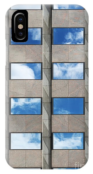 Window Pane iPhone Case - Rectangles  by Tim Gainey