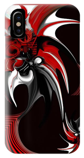 Red And Black Formation IPhone Case