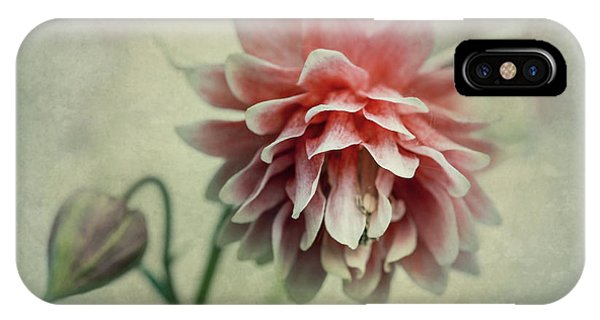 Red And Pink Columbine IPhone Case