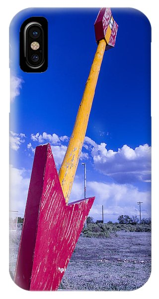Timeworn iPhone Case - Red Arrow 2 by Garry Gay