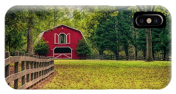 Red Barn 2 IPhone Case