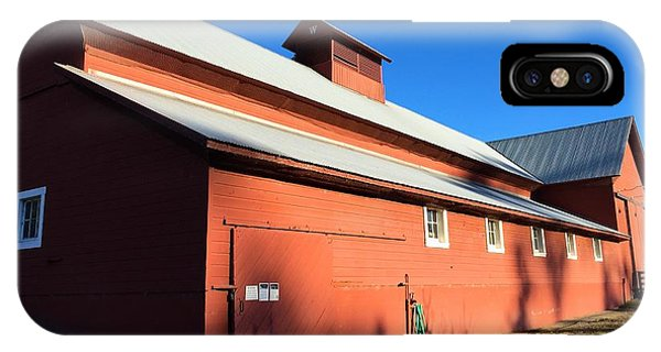 Red Barn, Blue Sky IPhone Case