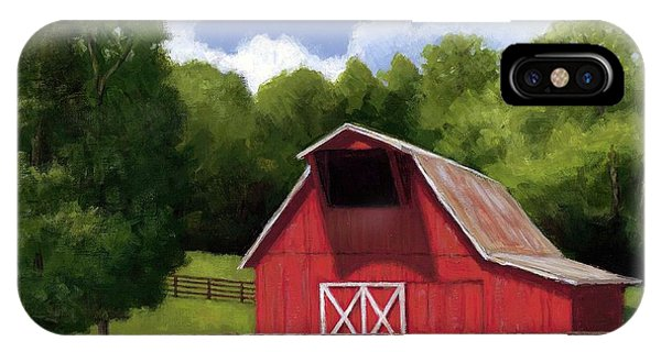 Red Barn In Franklin Tn IPhone Case