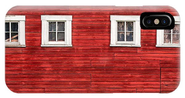 Red Barn Side IPhone Case