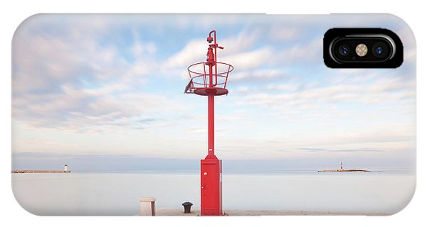 Red Beacon IPhone Case