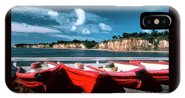 Red Boat Diaries IPhone Case