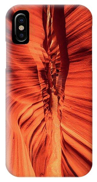 Red Breaks IPhone Case