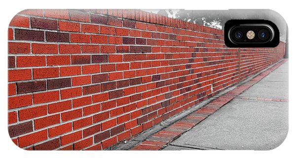 IPhone Case featuring the photograph Red Brick by Doug Camara
