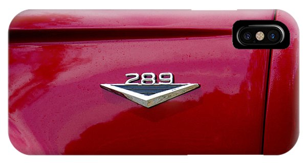Red Bronco 289 IPhone Case