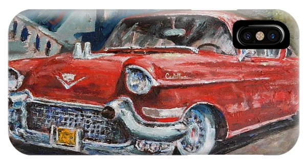 Red Caddy IPhone Case