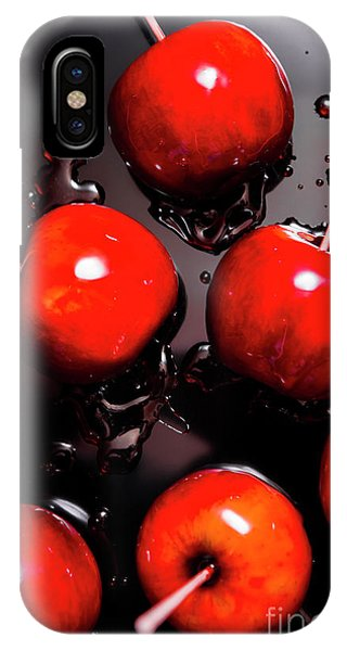 Or iPhone Case - Red Candy Apples Or Apple Taffy by Jorgo Photography - Wall Art Gallery