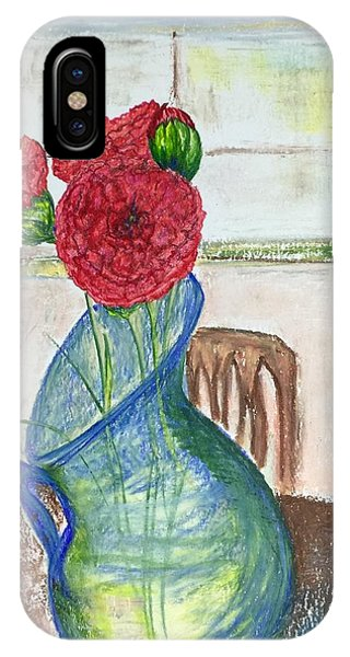 Red Carnations IPhone Case