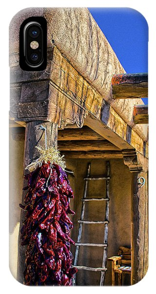 Red Chillies At New Years IPhone Case