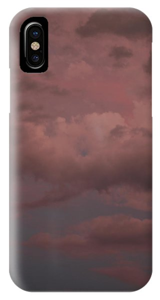 IPhone Case featuring the photograph Red Clouds Iv by Dylan Punke
