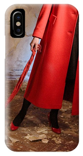 Red Coat #4810 IPhone Case