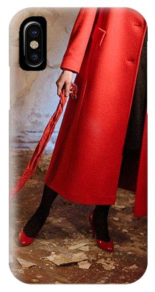Red Coat #4810 IPhone Case