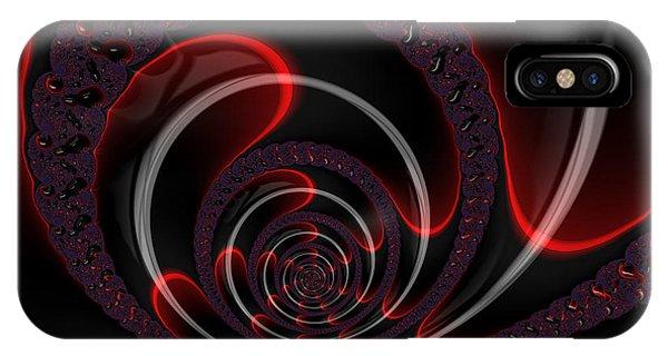 Red Cobra IPhone Case