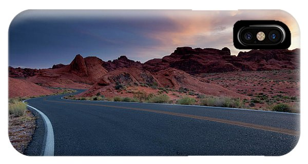 Red Desert Highway IPhone Case