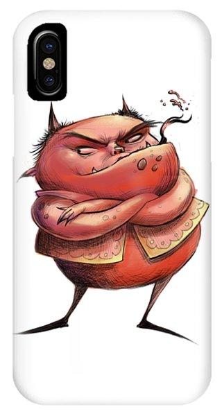 Red Devil IPhone Case