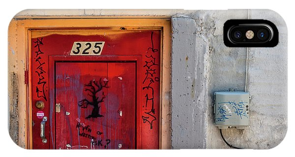 Downtown Salt Lake City IPhone Case   Red Door 325 By Steven Milner